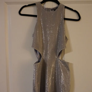 Silver Express Mini Dress - Size 2